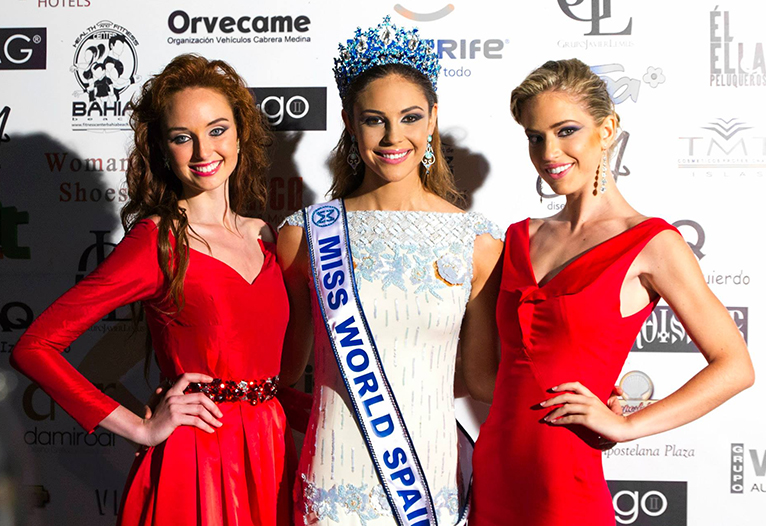 Top 3 Miss España Mundo 2013