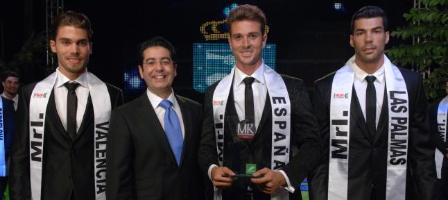 Top 3 Mister Internacional España 2014
