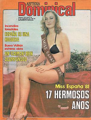 MissEspaña81